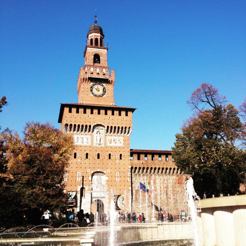 Castello Sforzesco Milan Italy