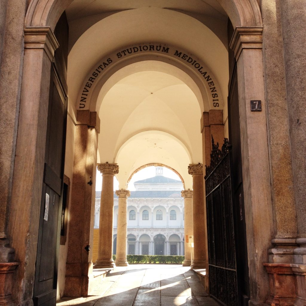 University of Milan Italy
