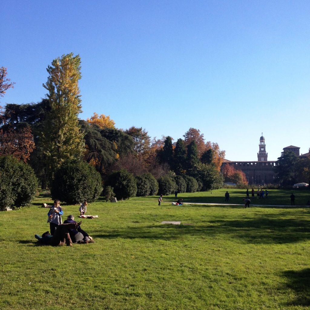 Parco Sempione Milan Italy