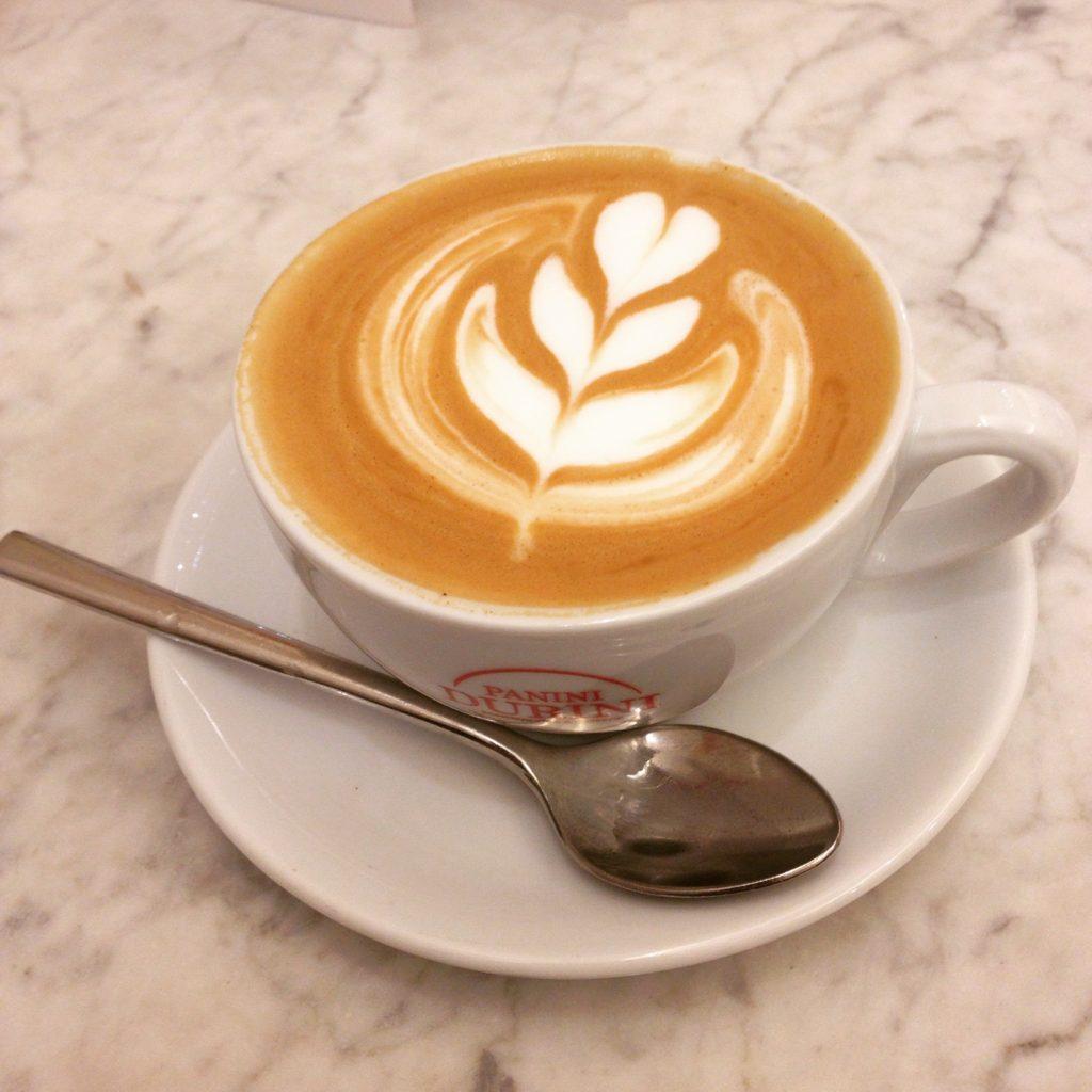 italian coffee Panini Durini Milan Italy