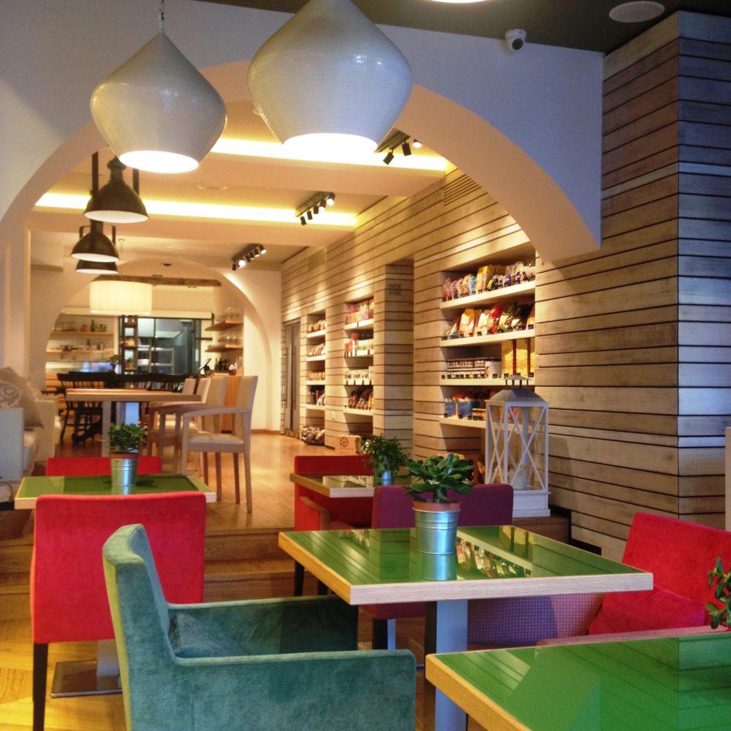 cafe Milan Italy