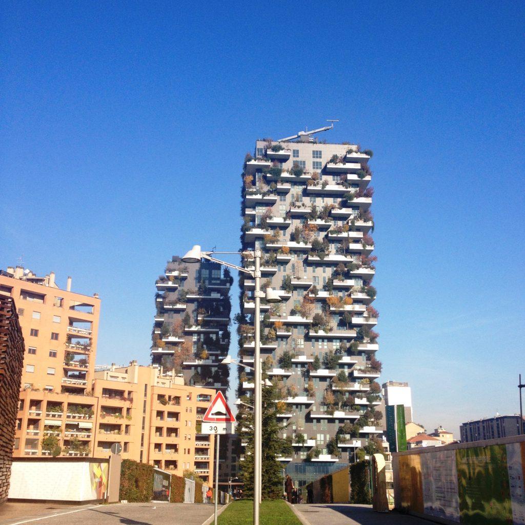 Piazza Gae Aulenti Milan Italy