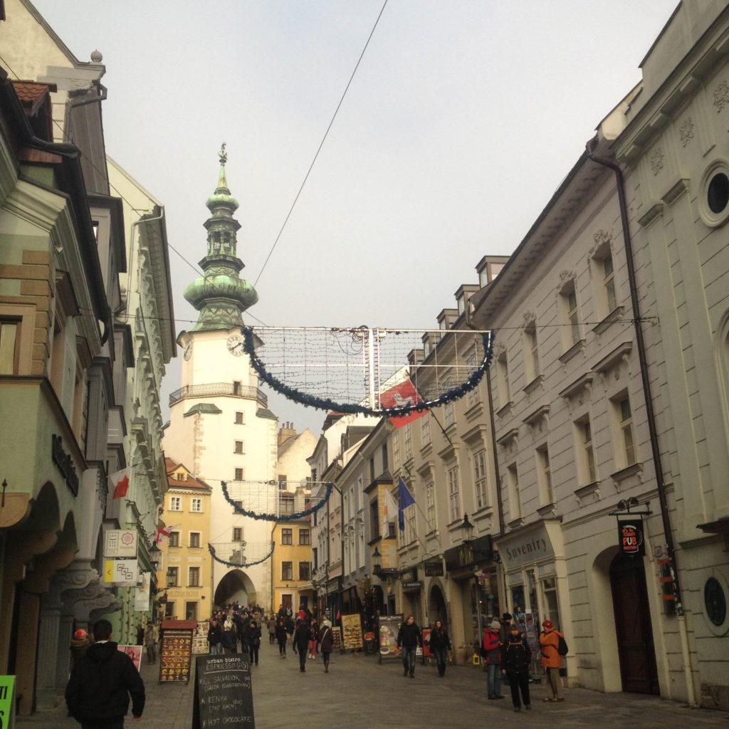 Bratislava Slovakia St. Michael's gate