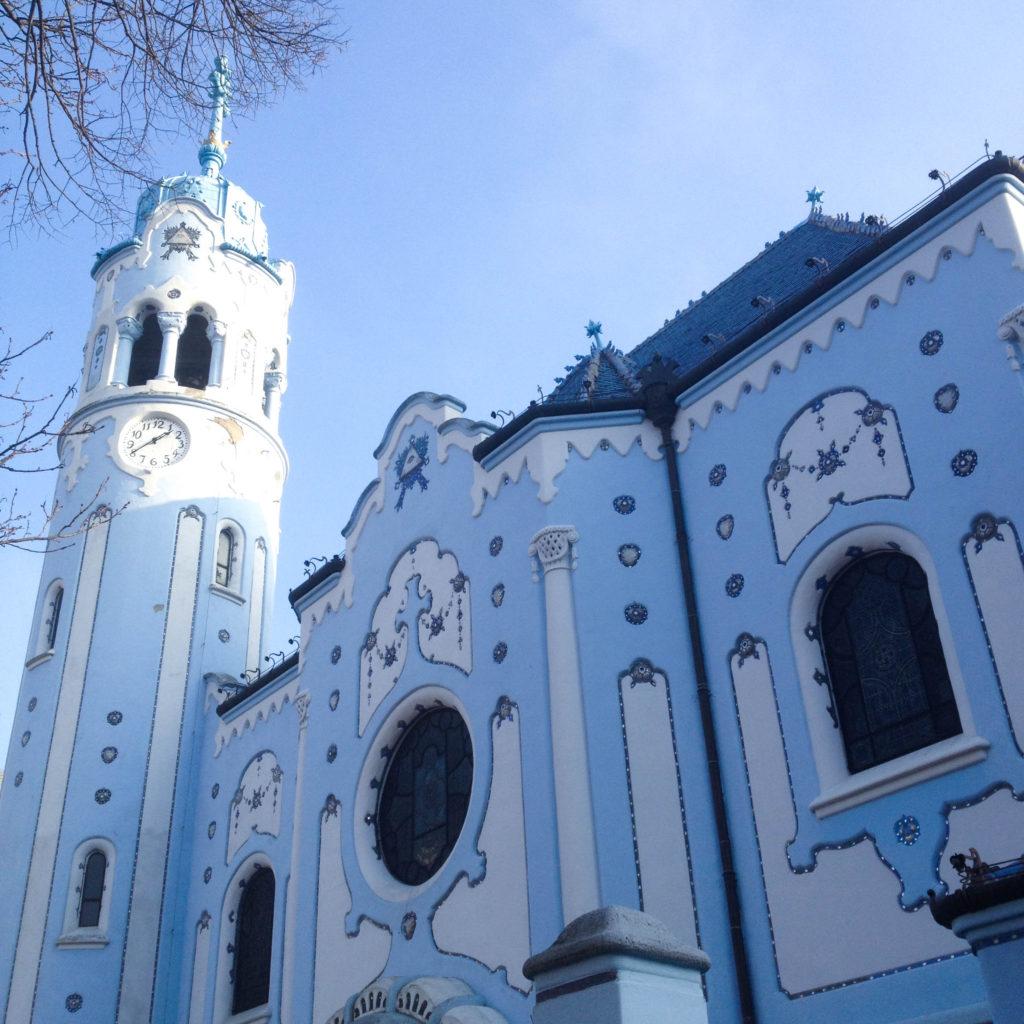 Bratislava Slovakia St. Elizabeth's Church