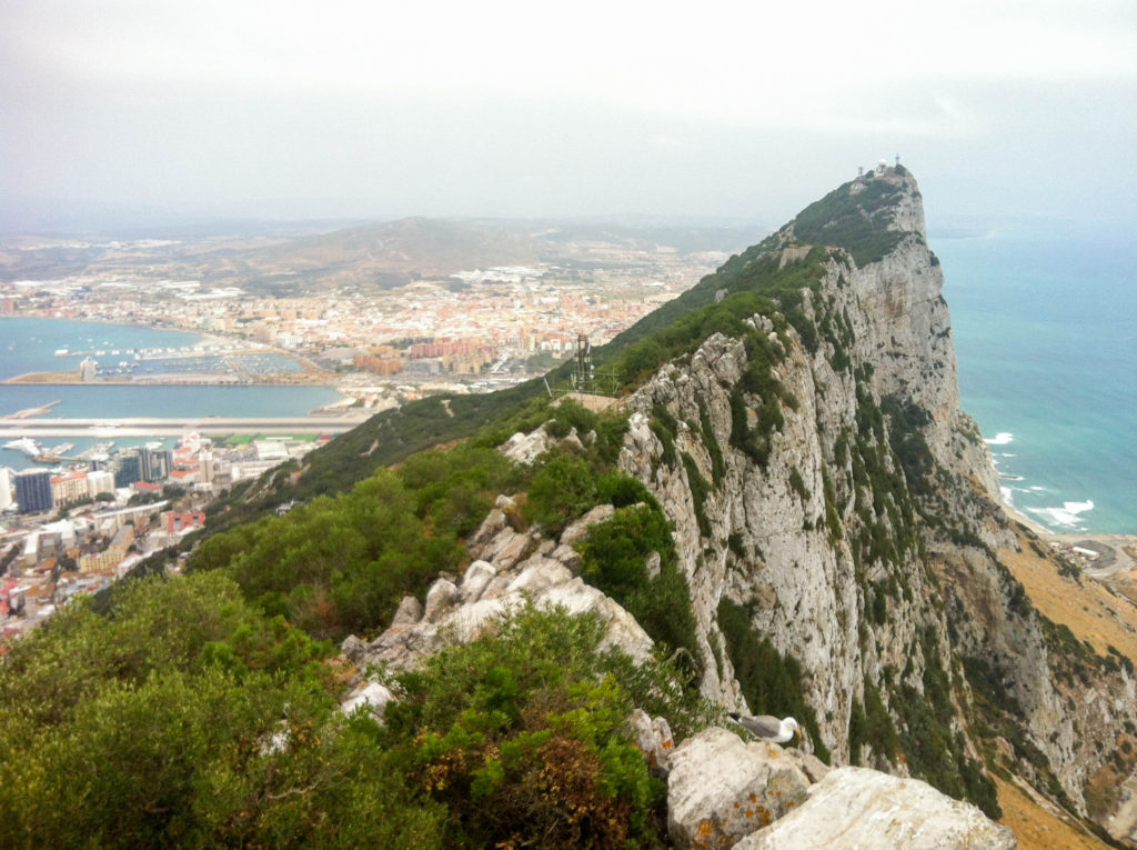 the Rock of Gibraltar Great Britain United Kingdom
