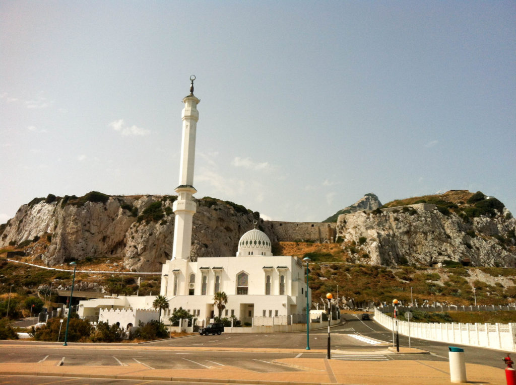 Gibraltar Great Britain United Kingdom Europa Point mosque