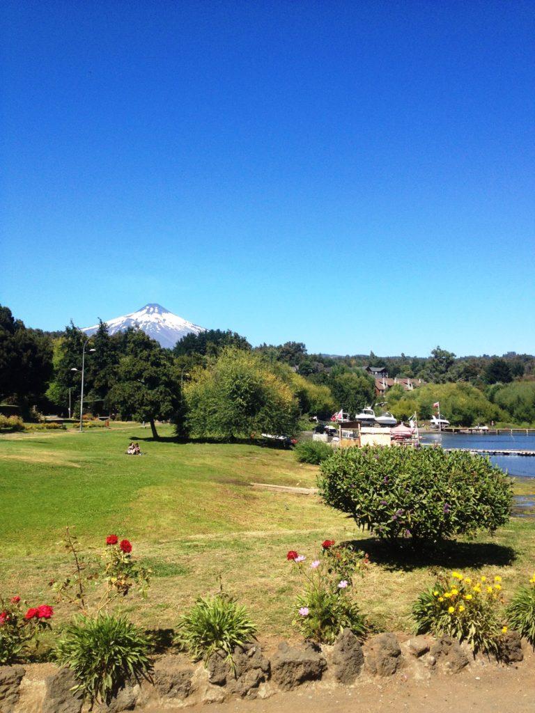Villarica volcano Pucon Chile