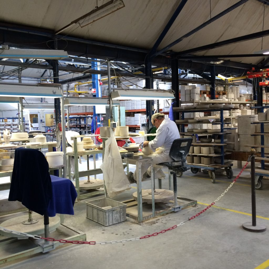 Delft the Netherlands Royal Dutch pottery factory