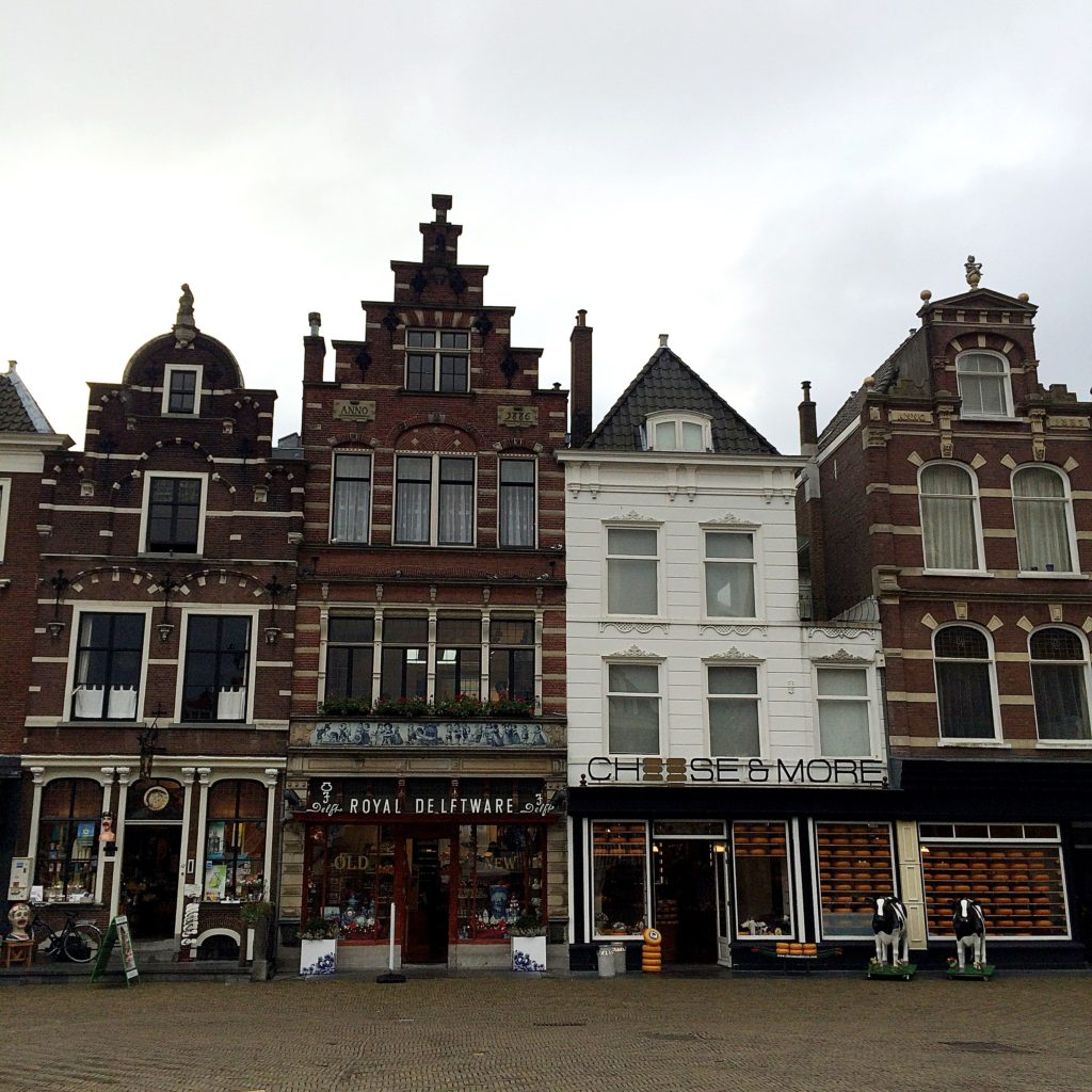 the Markt Delft the Netherlands