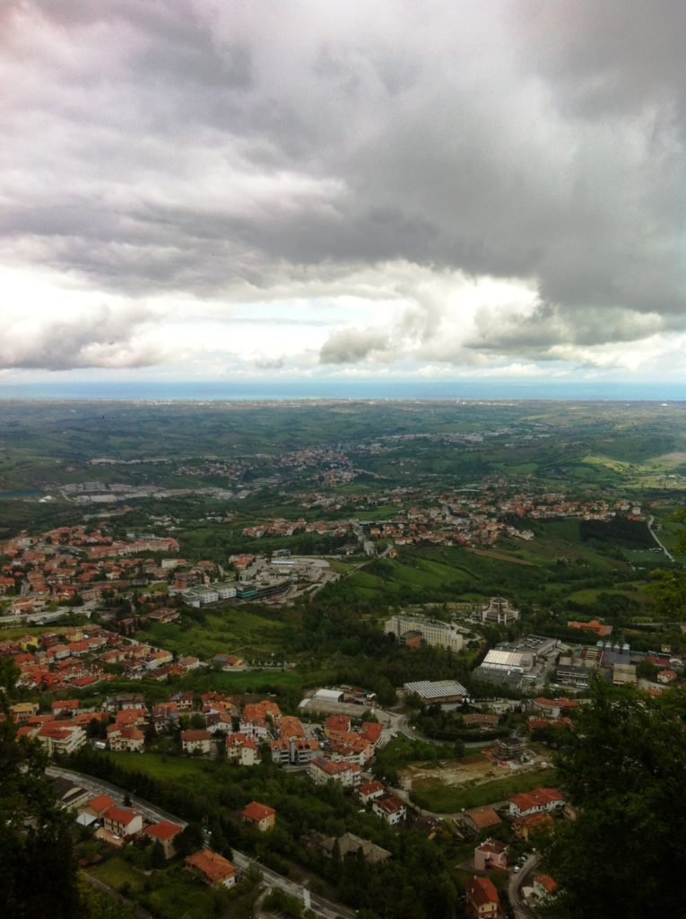 San Marino City view