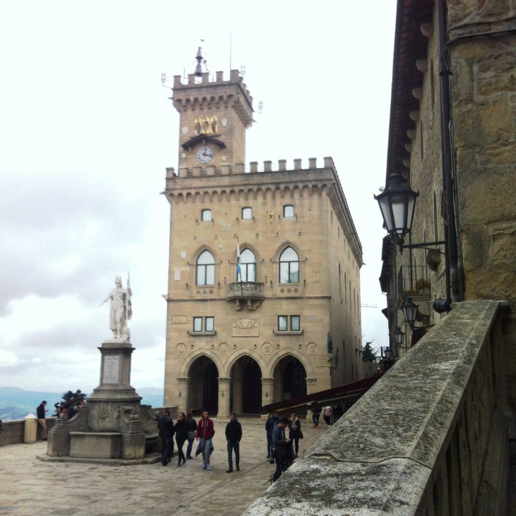 San Marino City Piazza della Liberta