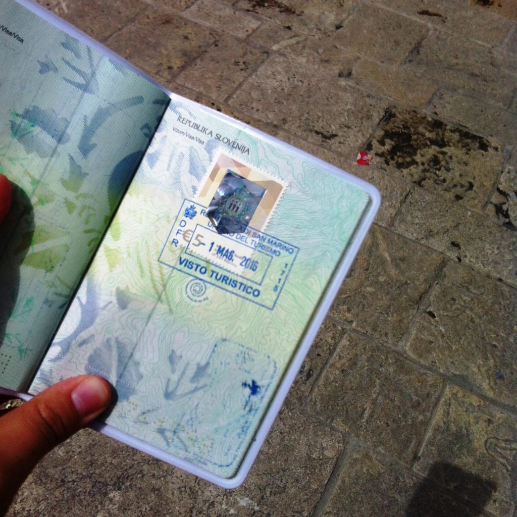 San Marino City passport visa