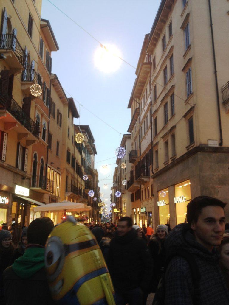 Christmas time Verona Italy