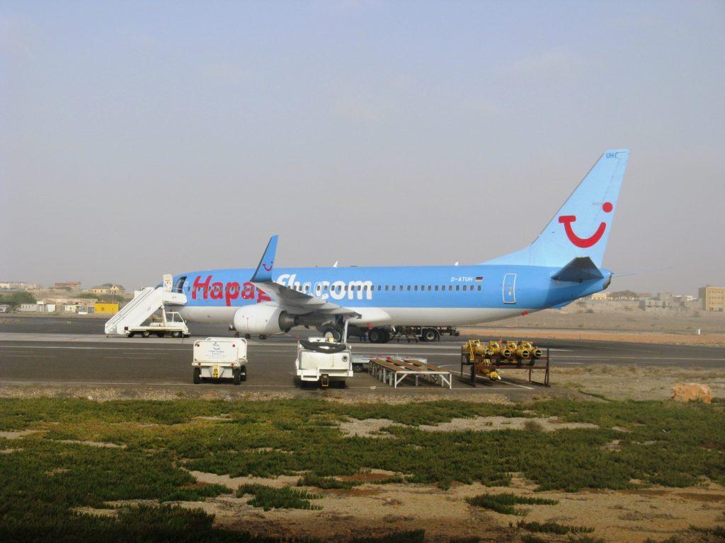 Aristides Pereira International Airport Boa Vista island Cape Verde