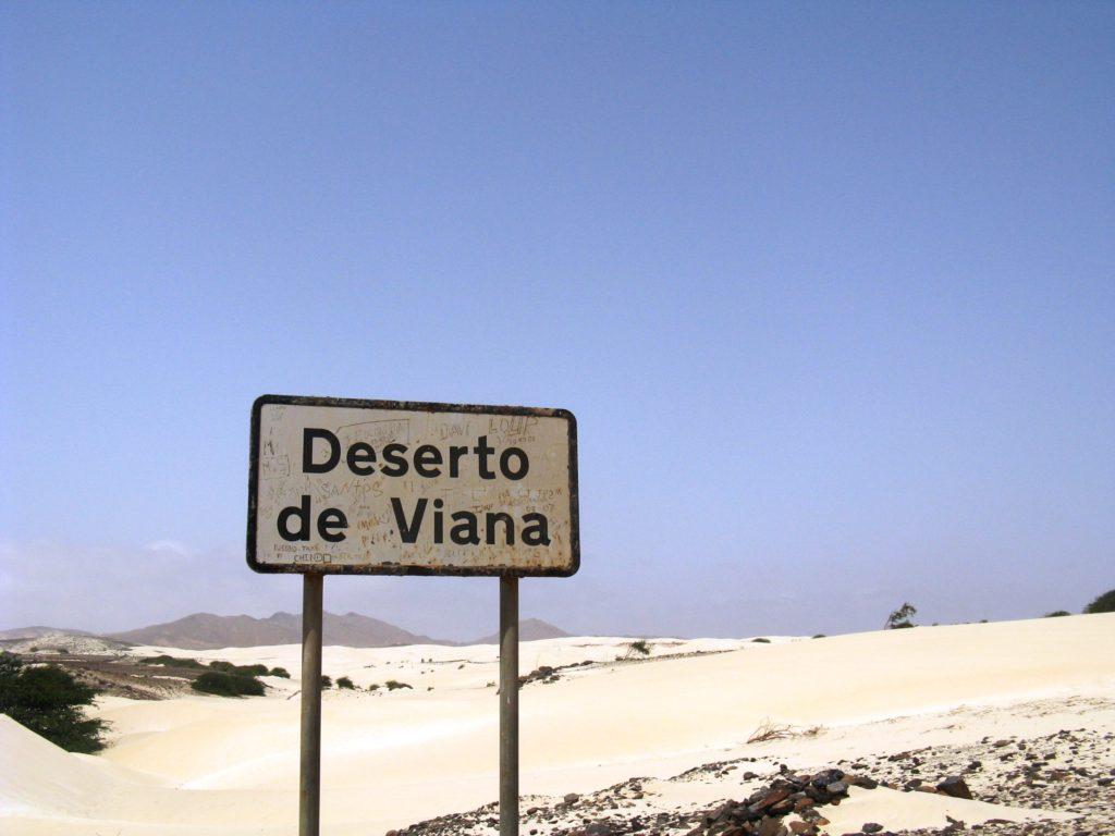 Viana desert Boa Vista island Cape Verde
