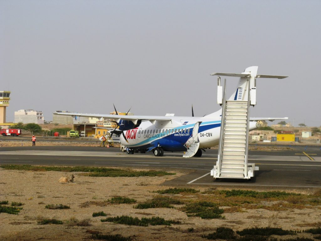 Aristides Pereira International Airport Boa Vista island Cape Verde
