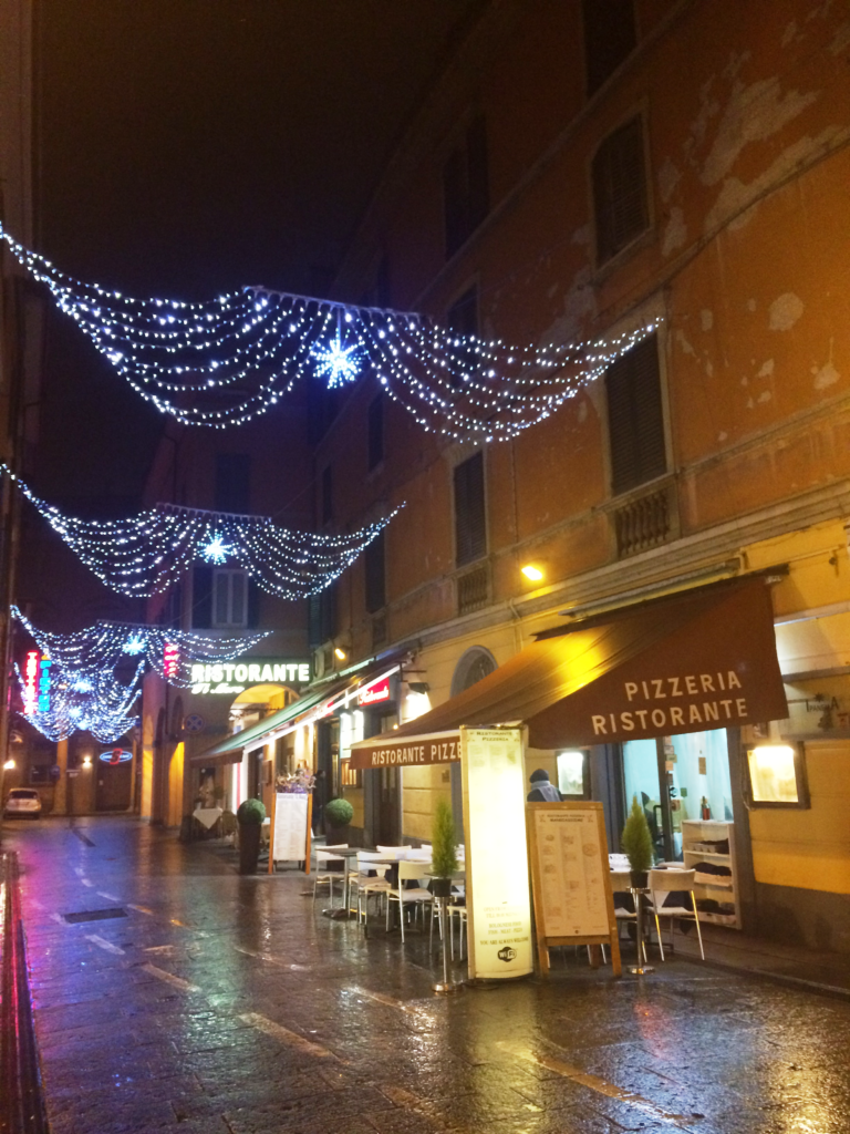 Bologna Christmas time Italy