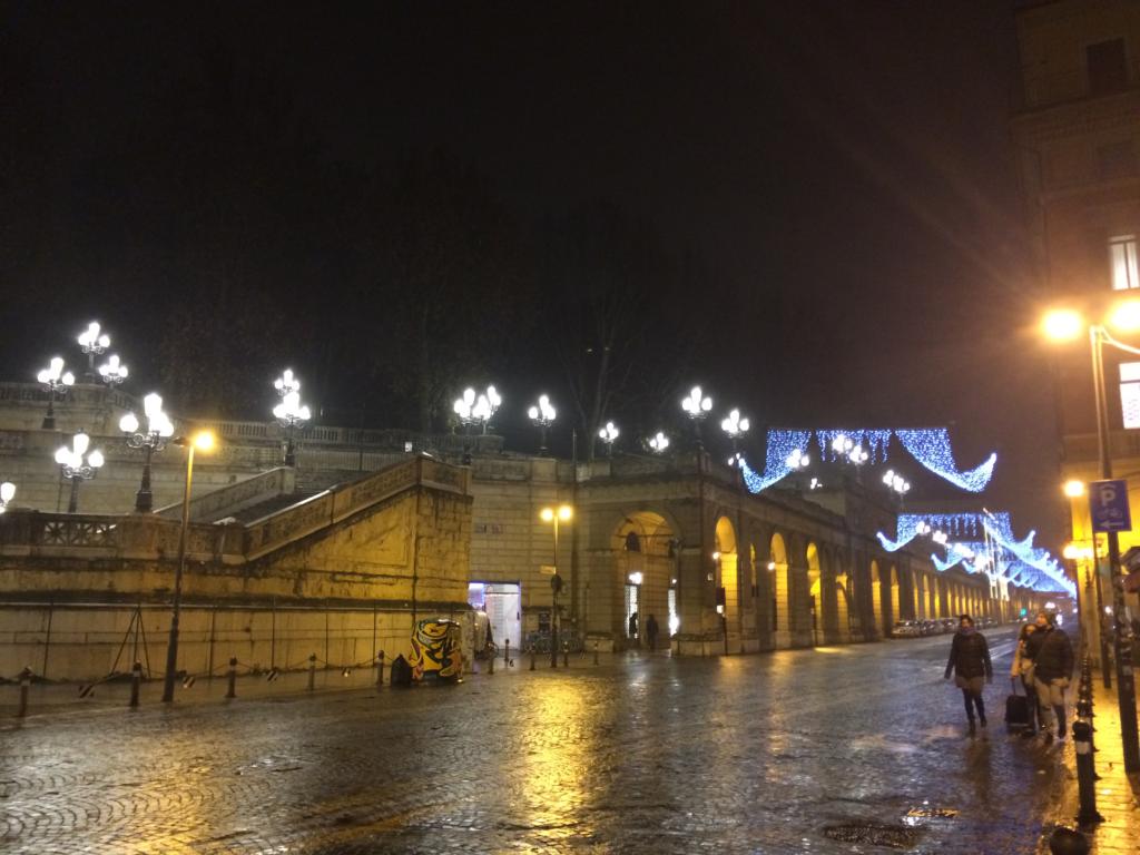 Bologna Christmas time Italy