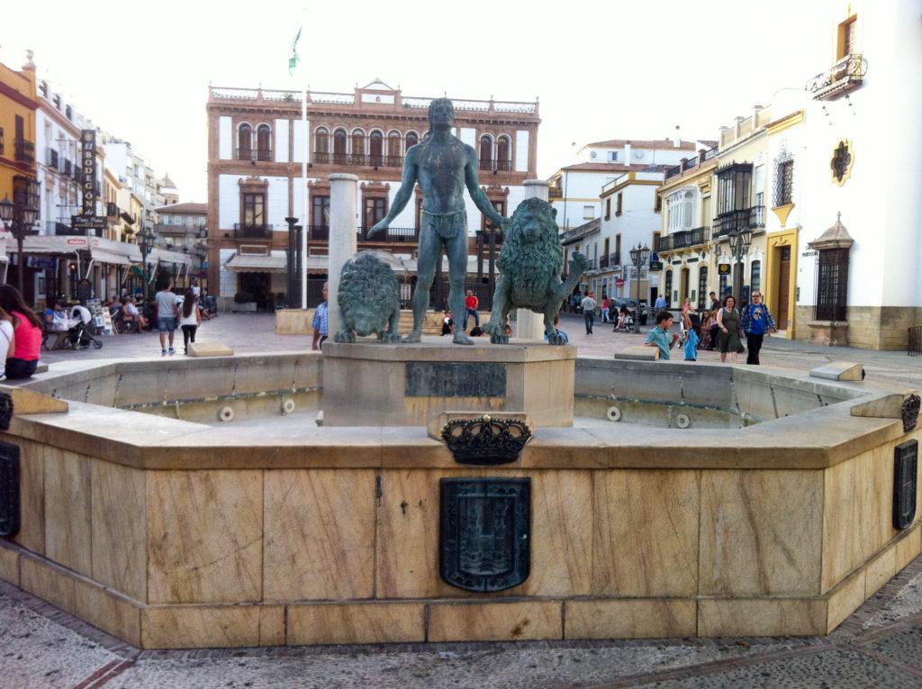 Plaza de la Duquesa de Parcent Ronda Spain