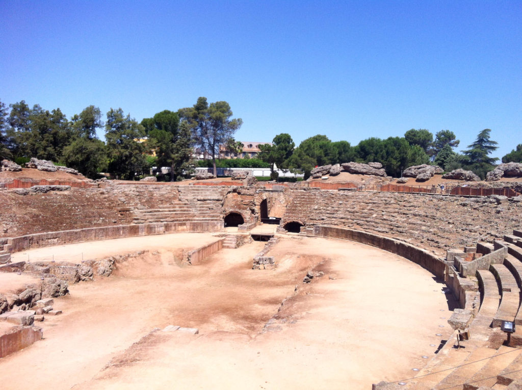 Merida Roman Amphitheater Spain