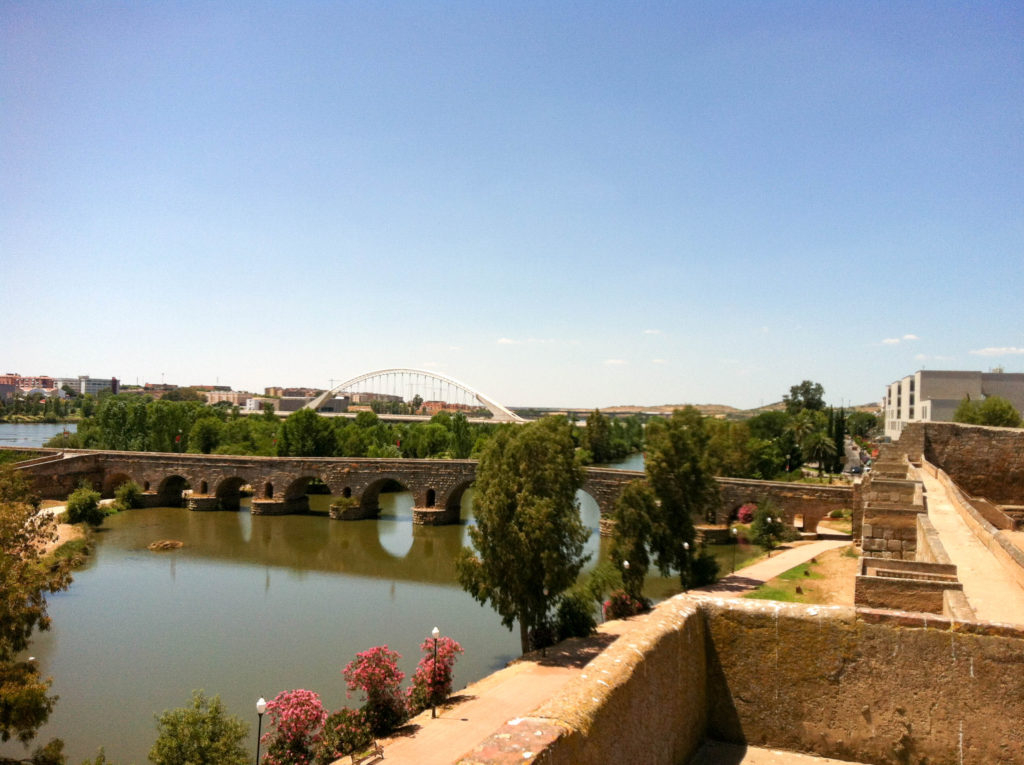 Merida Puente Romano bridge Spain
