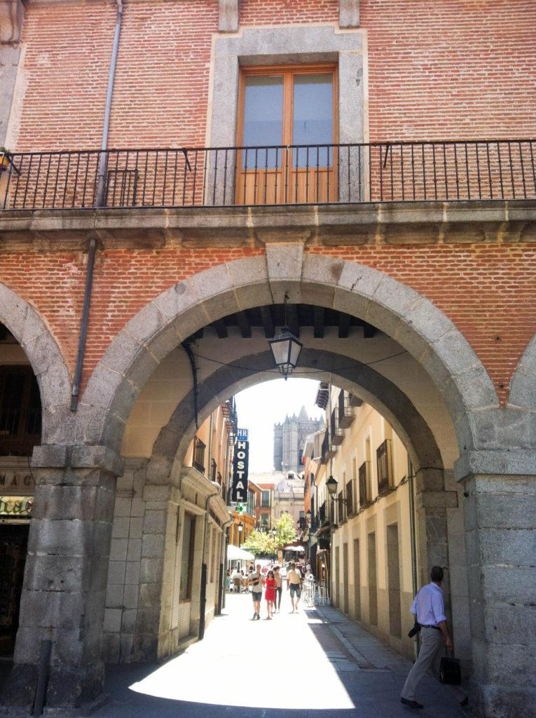 Avila old town Spain