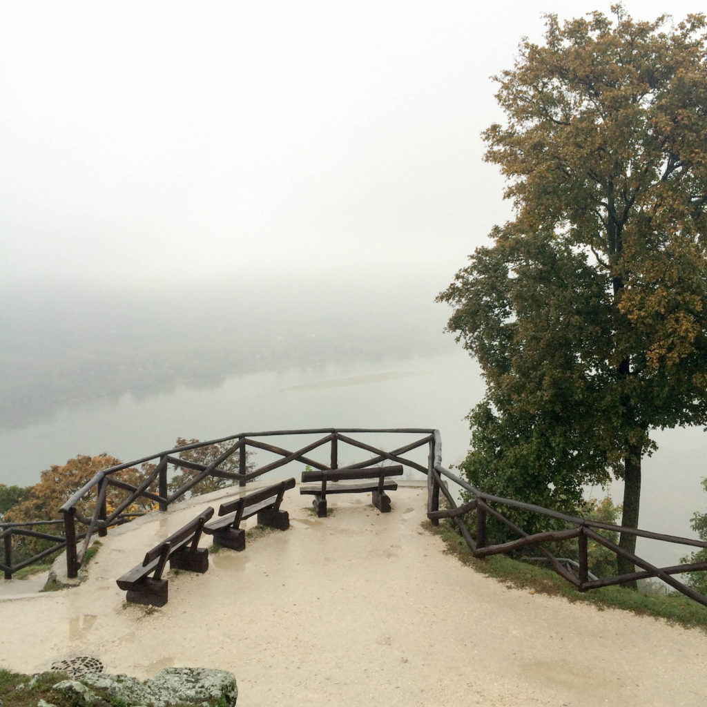 Visegrad Castle Hungary view Danube