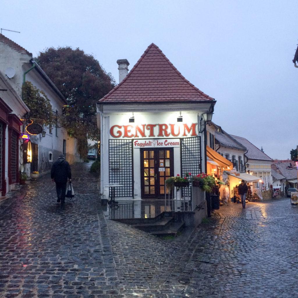 Bogdanyi street Szentendre Hungary