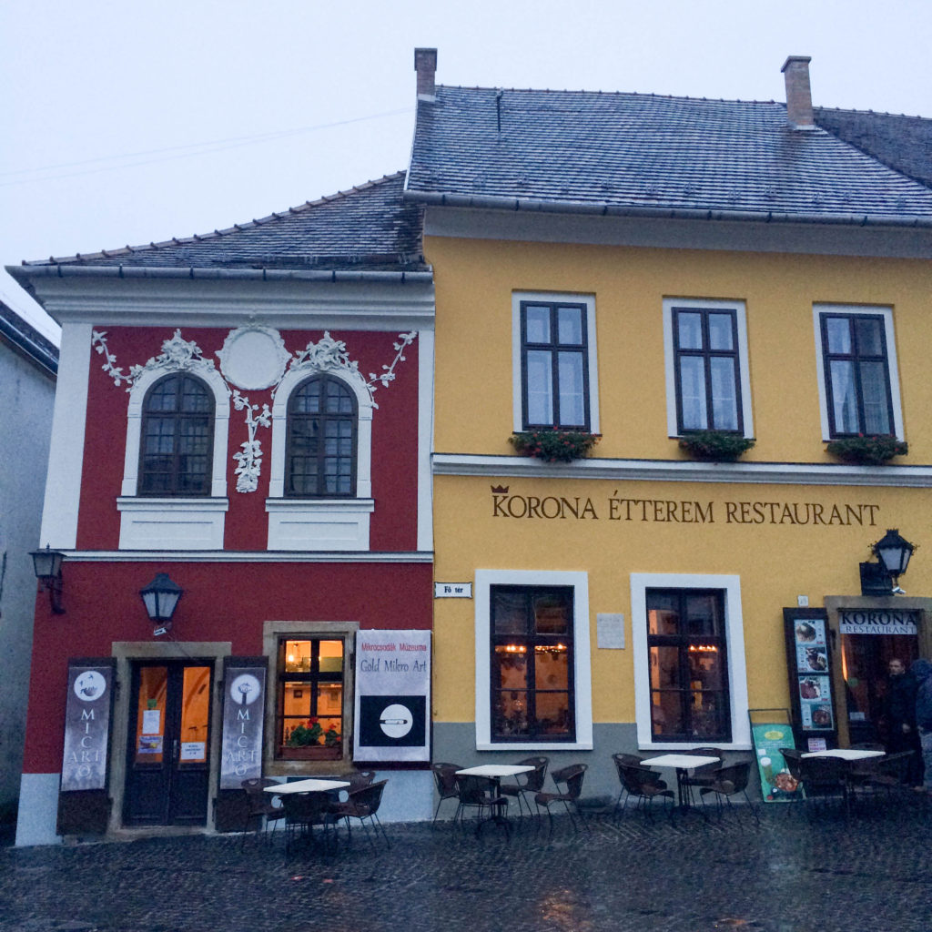 Main square Fo ter Szentendre Hungary
