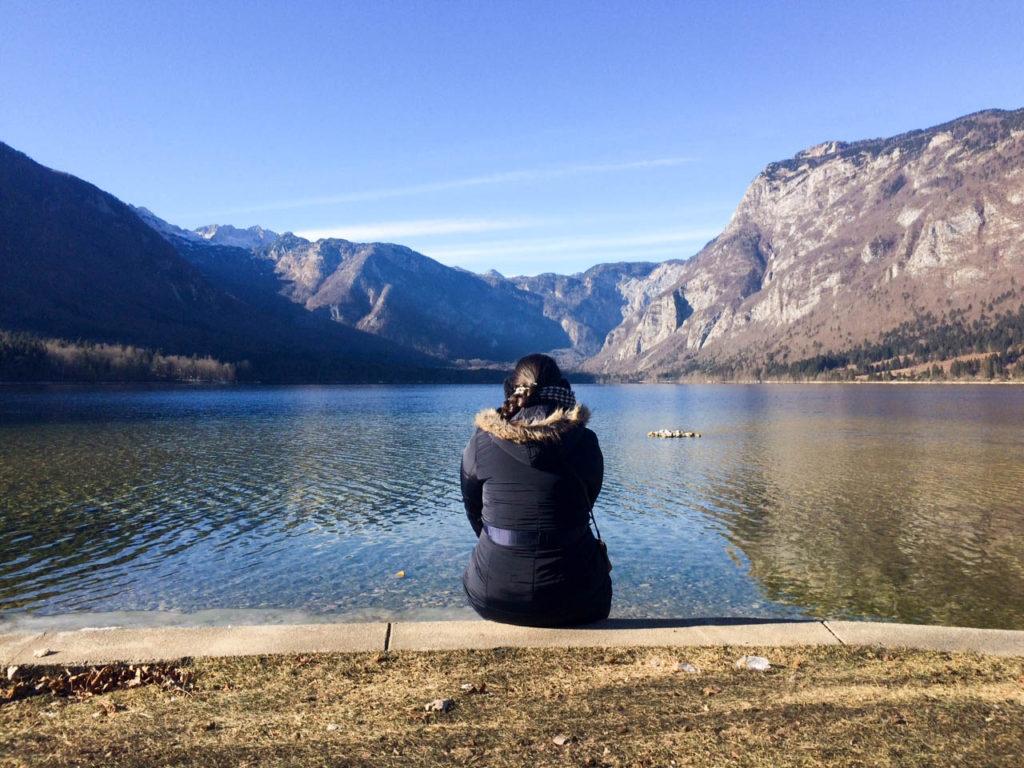 Bohinj Slovenia Triglav national park Bohinj lake Ribicev laz Vanja Vodenik