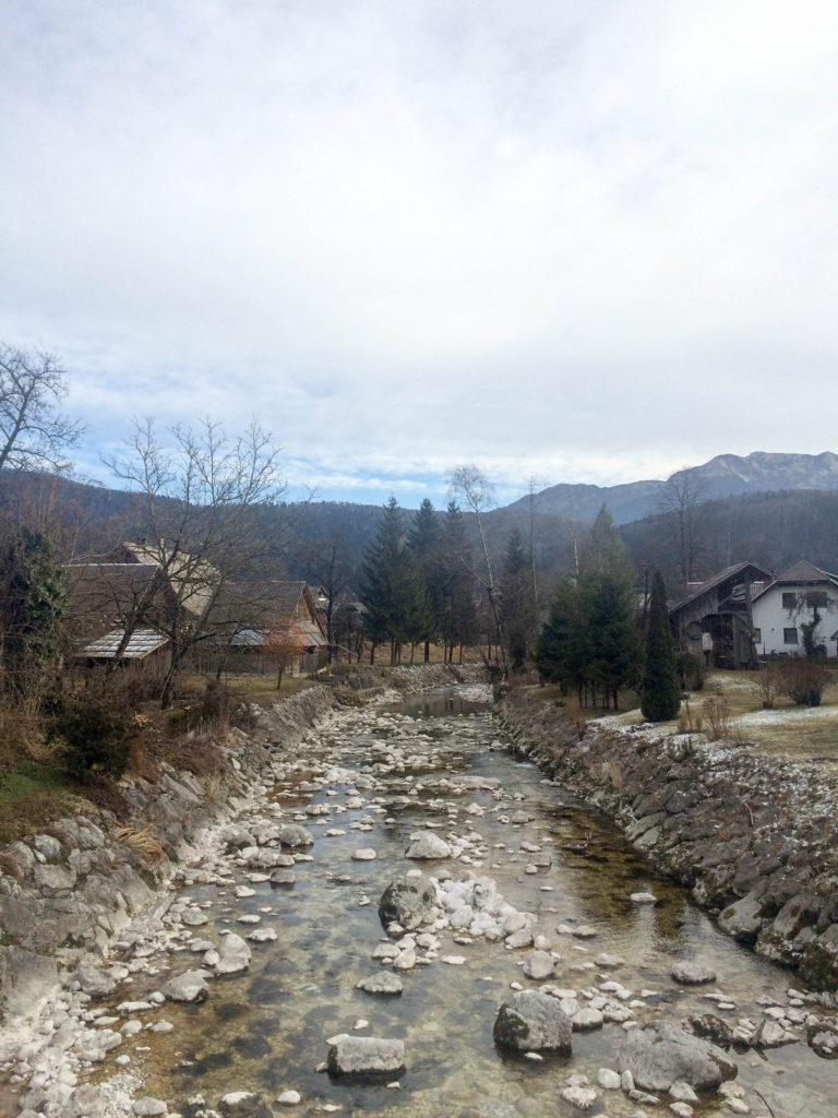 Bohinj Slovenia Triglav national park Stara Fuzina