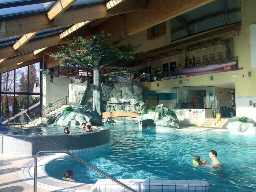 Aquapark Bohinj Bohinjska Bistrica Slovenia swimming