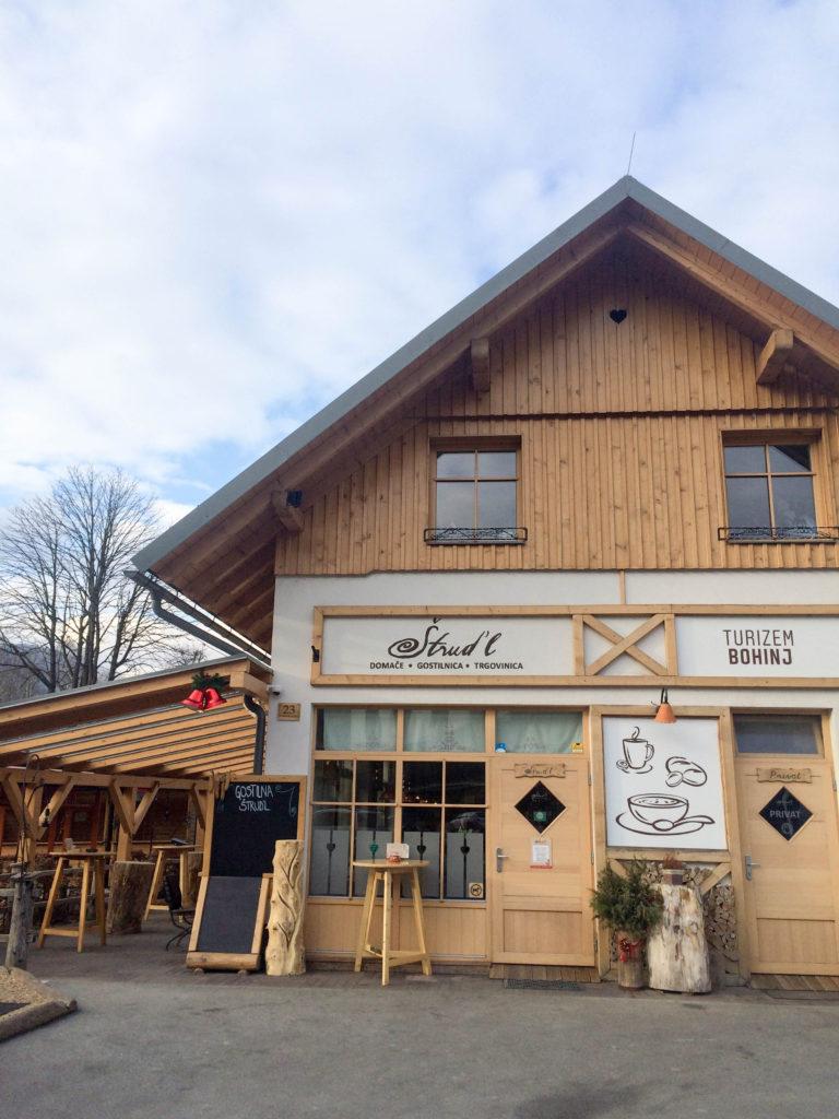 restaurant Pr'Strudl Bohinjska Bistrica Slovenia