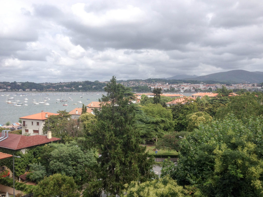 Hondarribia Spain view France Hendaye