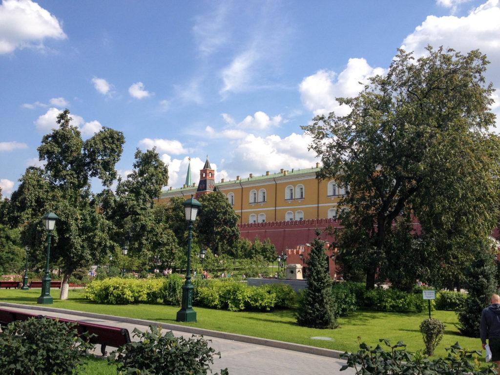 Alexander Garden Kremlin Moscow Russia