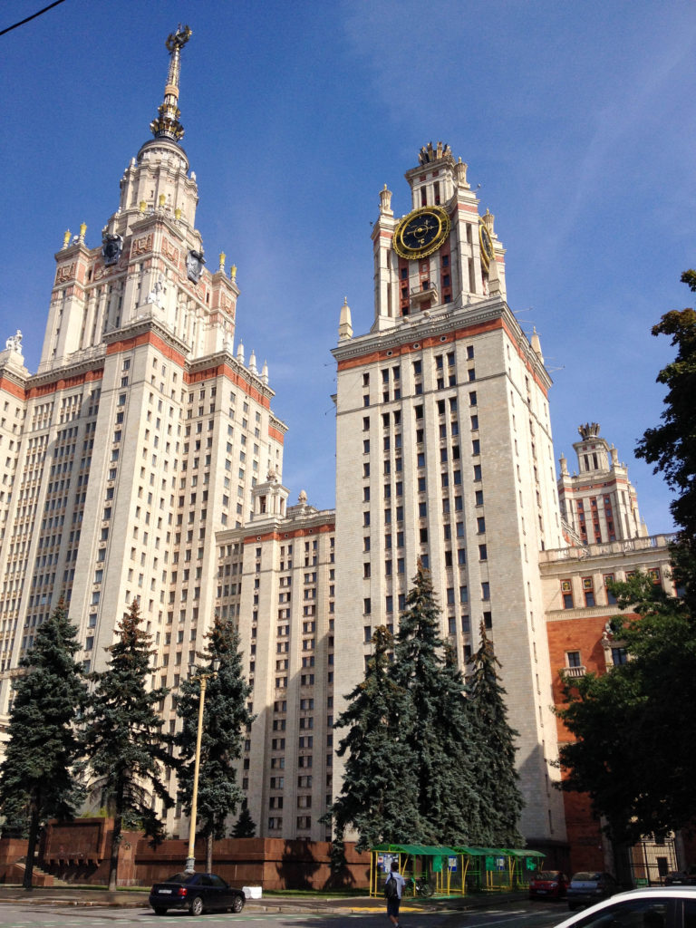 Seven Sisters Moscow State University Russia