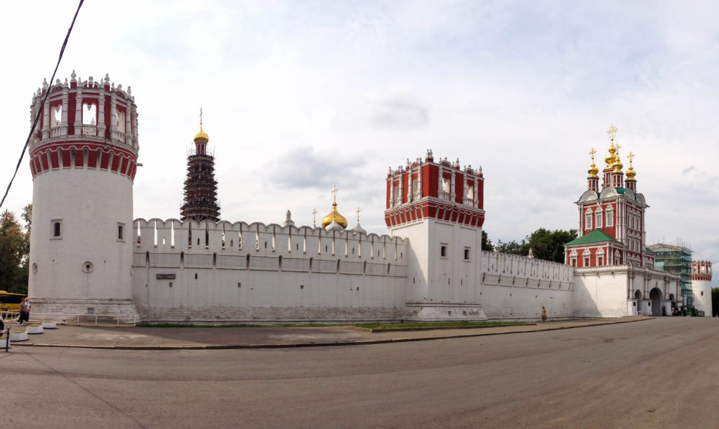 Novodevichy Convent Moscow Russia