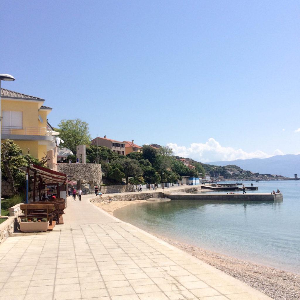 Baška island Krk Croatia