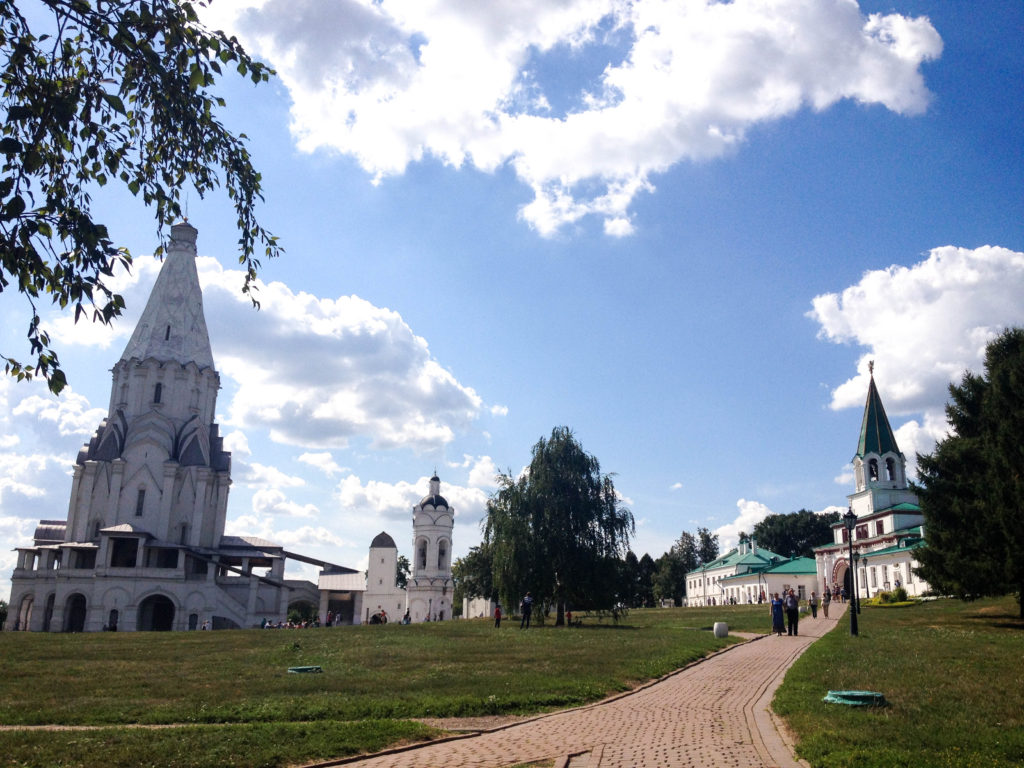 Kolomenskoye estate Church of the Ascension Moscow Russia