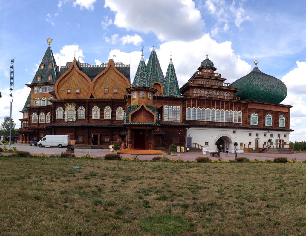 Kolomenskoye estate Moscow Russia wooden palace Tsar Alexei