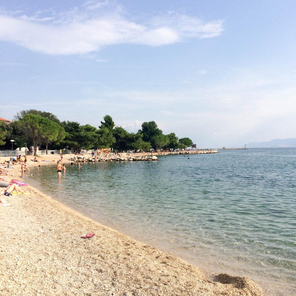 Crikvenica Kvarner Croatia beach
