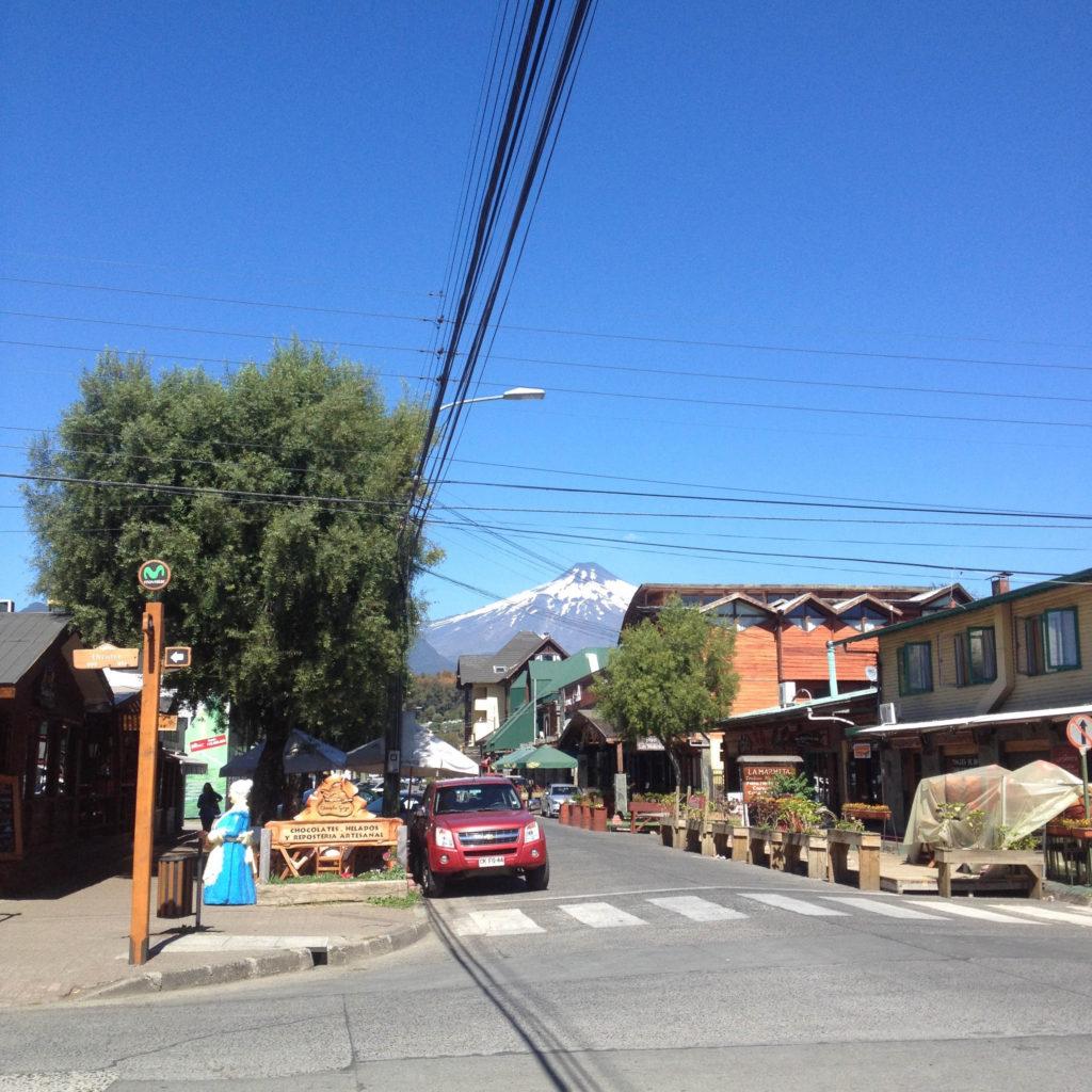 Pucon Chile Villarica volcano