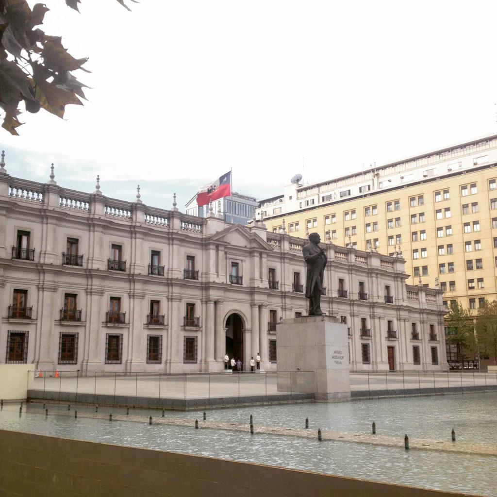 Santiago de Chile parliament