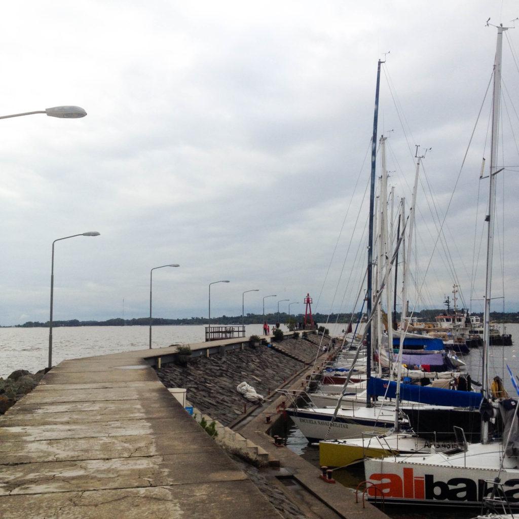 Barrio Historico Colonia del Sacramento Uruguay port Puerto de Yates