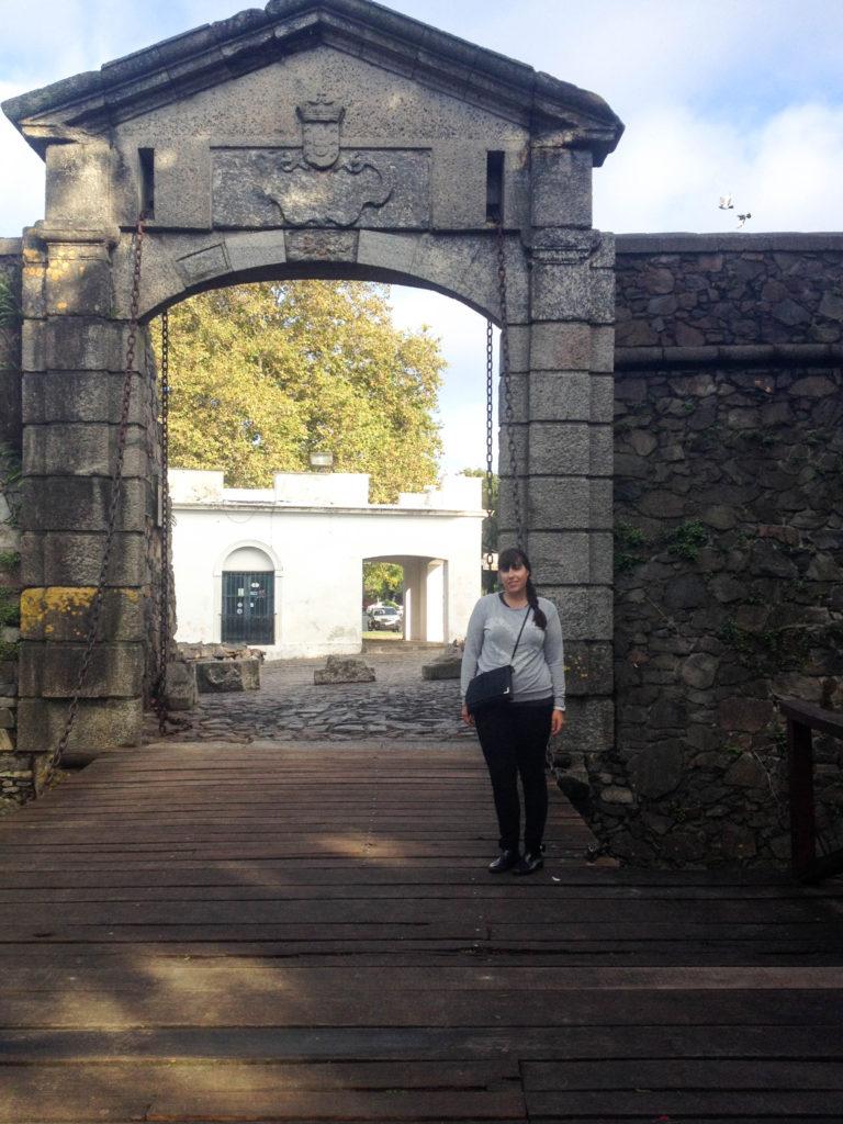 Porton de Campo city gates Colonia del Sacramento Uruguay Vanja Vodenik