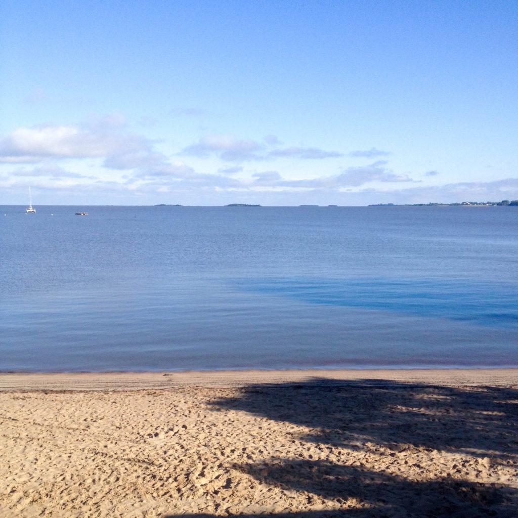beach Colonia del Sacramento Uruguay