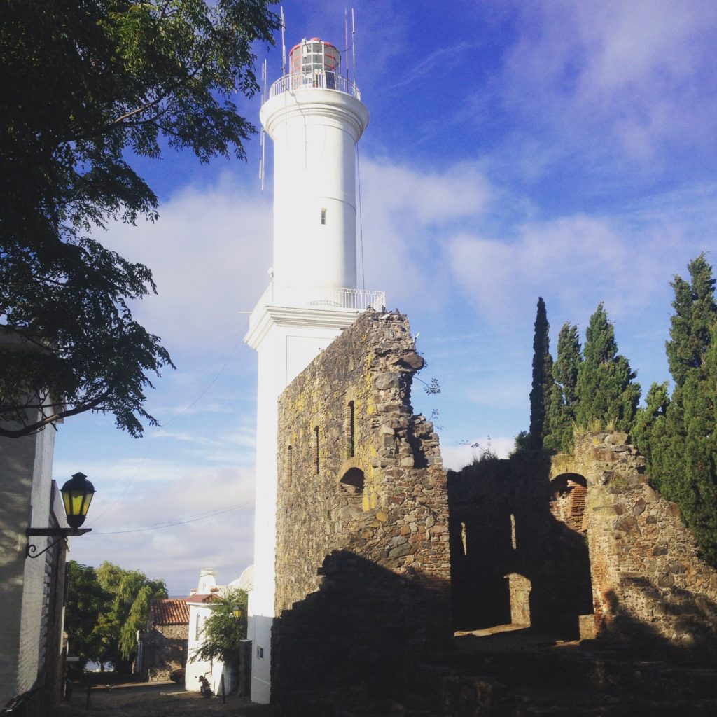 Barrio Historico Colonia del Sacramento Uruguay lighthouse Convent of San Francisco