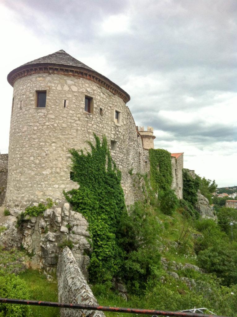 Rijeka Trsat castle Croatia