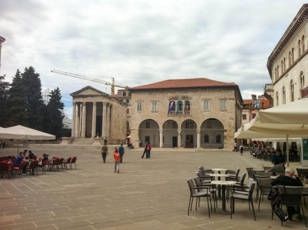 Pula Istria Croatia Roman Forum