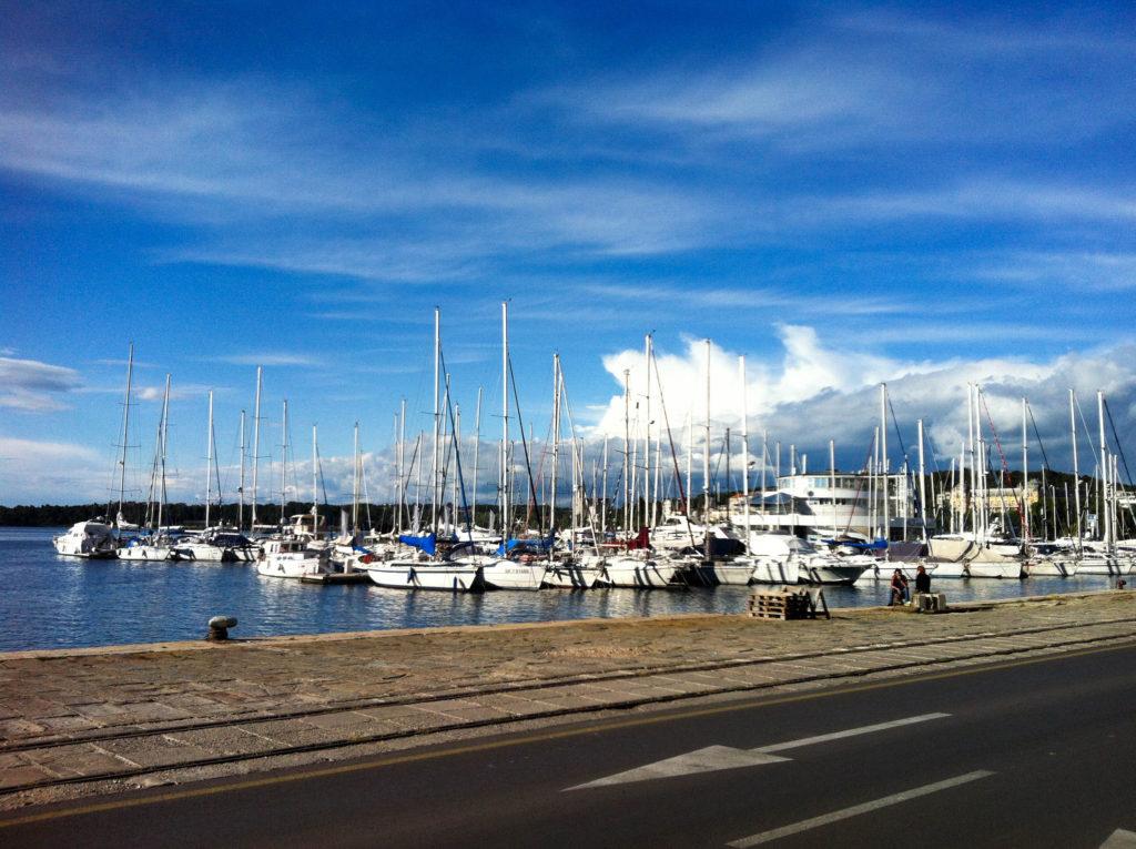 Pula Istria Croatia harbour